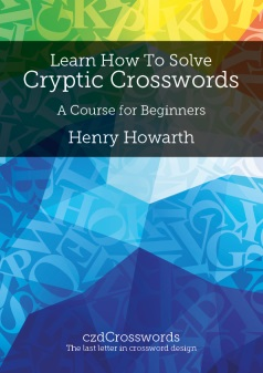 The front cover of Learn How to Solve Cryptic Crosswords